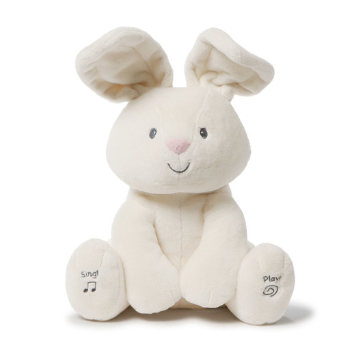 Baby Gund Plush Toy - Flora The Animated Bunny