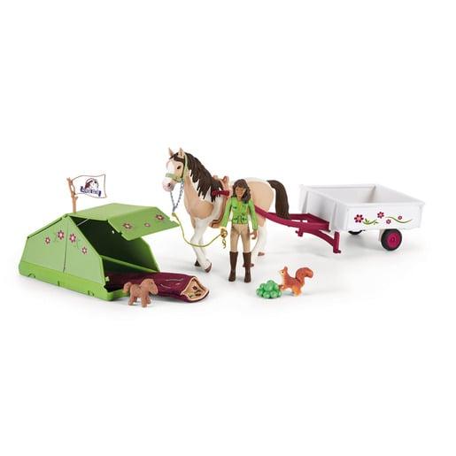 Schleich Horse Club Sarah's Camping Adventure Playset