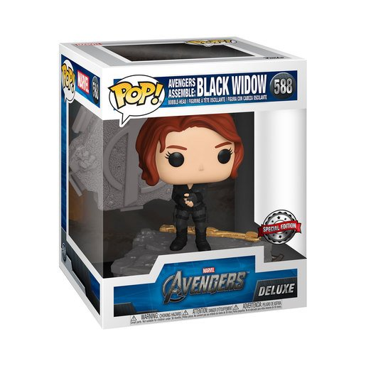 Funko Pop! Marvel: Avengers Assemble - Black Widow (Special Edition)