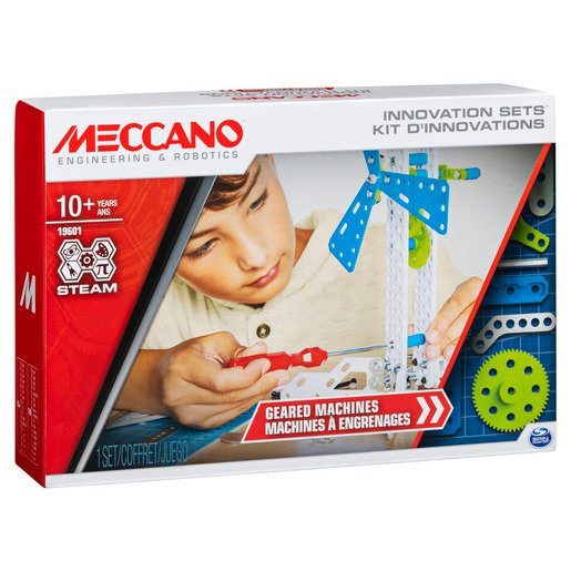 Meccano Geared Machines Building Kit