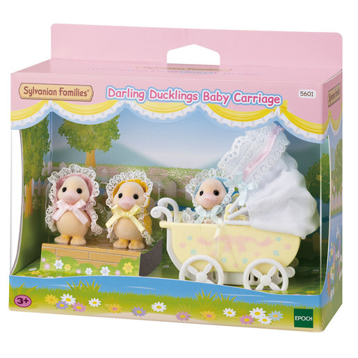 Sylvanian Familes Darling Ducklings Baby Carriage