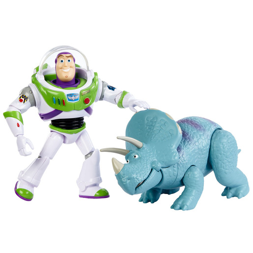 Disney Pixar Toy Story - Buzz Lightyear & Trixie Figures