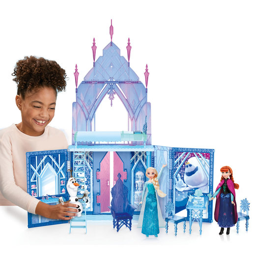 Picture of Disney's Frozen 2 Elsa's Fold and Go Ice Palace  Playset