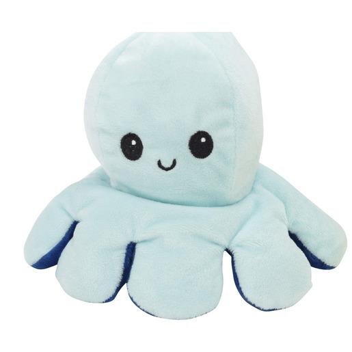 Squish Meez Octoplush Soft Toy - Sea Foam & Navy