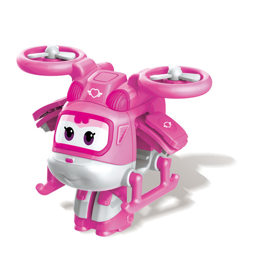 Super Wings 5cm Transform-a-Bot - Super-Charged Dizzy