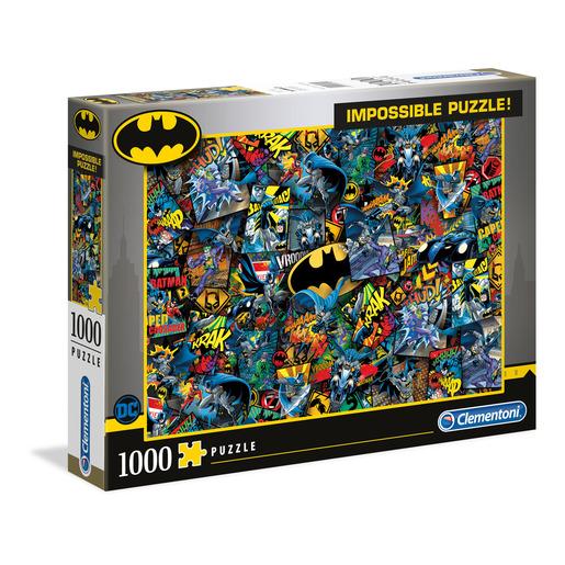 Clementoni-  DC Comics Batman 1000pc Impossible Puzzle from TheToyShop