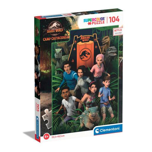 Clementoni - Jurassic world 104pc Puzzle from TheToyShop