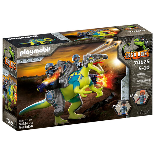 Picture of Playmobil 70625 Dino Rise Spinosaurus: Double Defense Power Playset