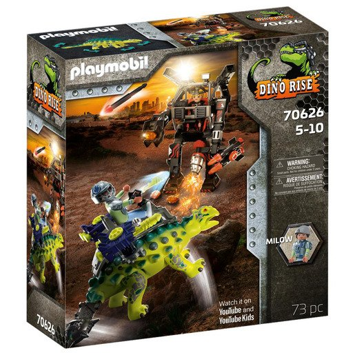 Picture of Playmobil 70626 Dino Rise Saichania: Invasion of the Robot Playset