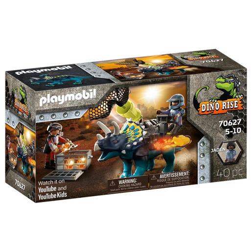 Picture of Playmobil 70627 Dino Rise Triceratops: Battle for the Legendary Stones