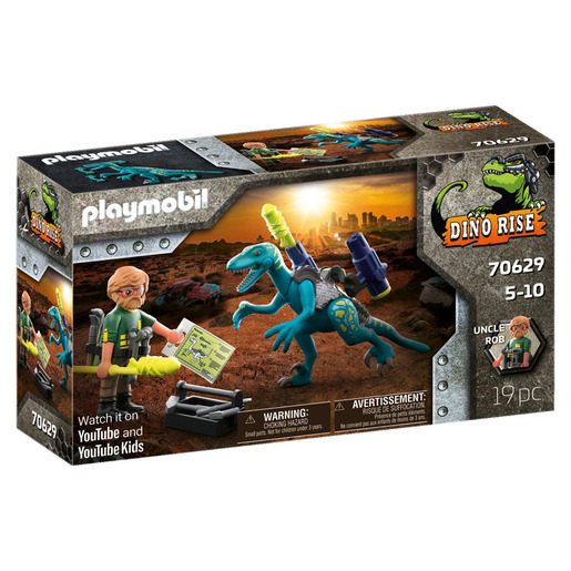 Picture of Playmobil 70629 Dinos Deinonychus: Ready for Battle Playset