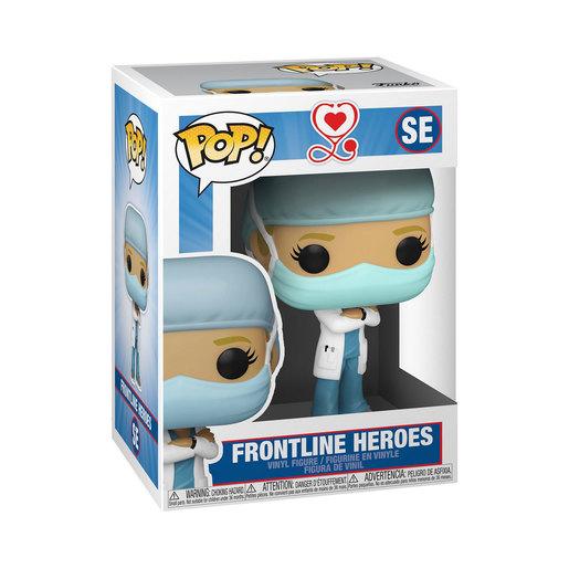 Funko Pop! Frontline Heroes - Light Blue Scrubs & White Lab Coat (Female)