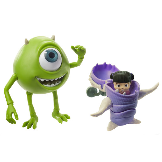 Disney Pixar Monsters, Inc. Mike Wazowski & Boo Figure Set