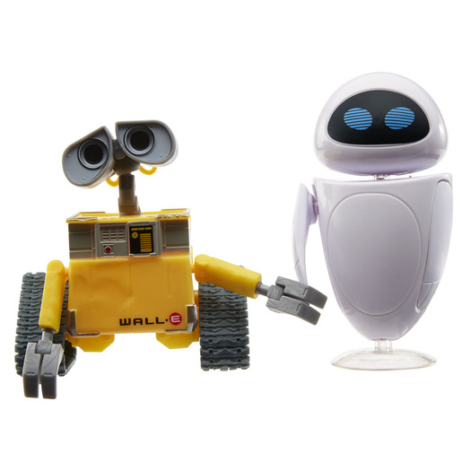 Disney Pixar Wall-E & Eve Figure Set