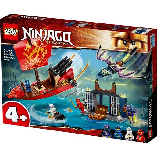 LEGO Ninjago Final Fight Of Destinys Bounty - 71749