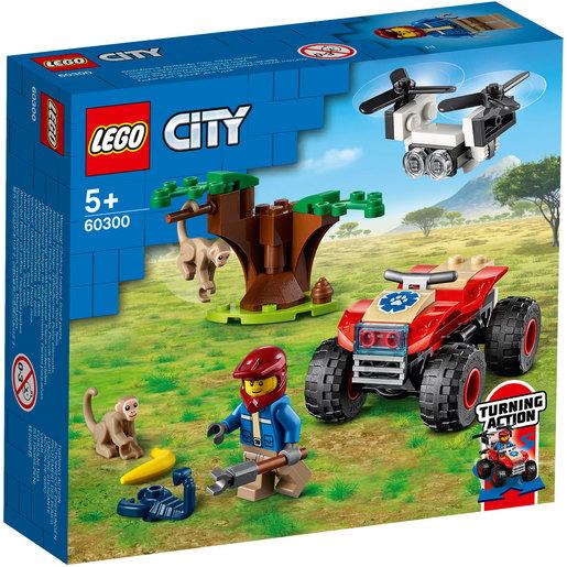 Picture of LEGO City  Wildlife Rescue Atv - 60300