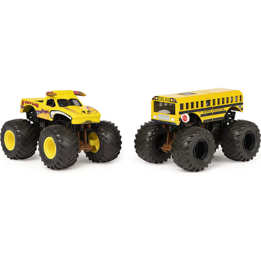 Picture of Monster Jam 1:64 Color Changing Monster Truck 2 Pack - El Toro Loco vs Higher Education