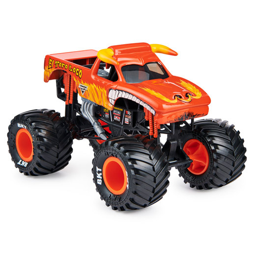 Monster Jam 1:24 True Metal Monster Truck   El Toro Loco