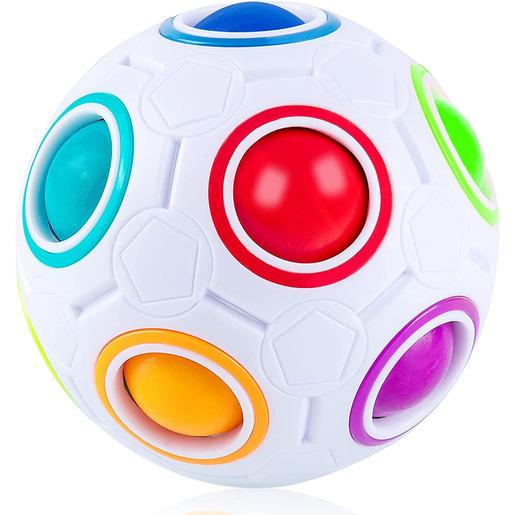 Rubik's Rainbow Ball Fidget Toy (Styles Vary)