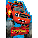 Blaze and the Monster Machines Birthday Card