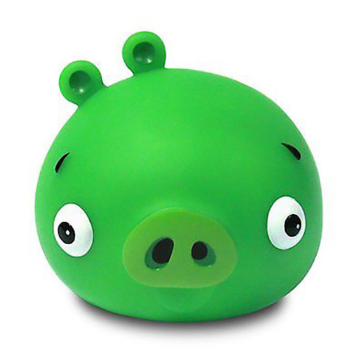 Image of Angry Birds Illumi-mate Pig Colour Changing Light