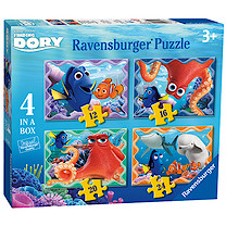 Ravensburger 4 in a Box Puzzles - Finding Dory