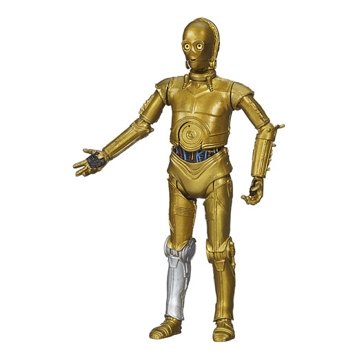 Star Wars Black Series 9.5cm Figure - C-3PO - Damaged Packaging