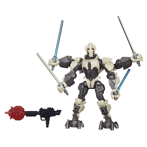 Star Wars Hero Mashers Deluxe General Grievous Figure