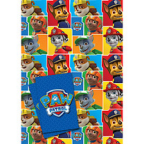 Paw Patrol 2 Wrapping Paper Sheets & 2 Gift Tags Pack