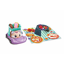 Zuru Hamsters in a House Food Frenzy Pinic Basket Buggie - Brown