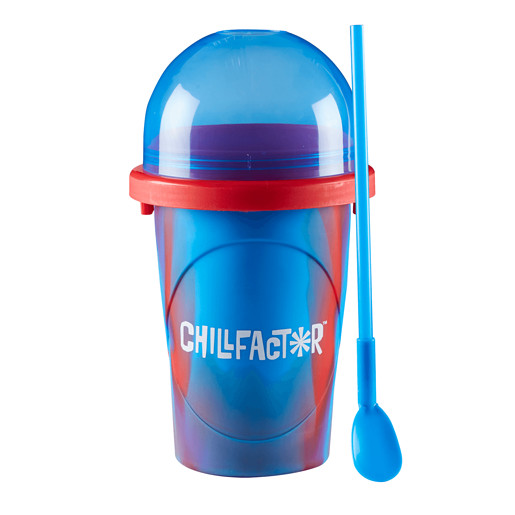 Chillfactor Splash Slushy Maker - Red and Blue