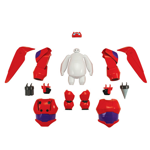 Disney Big Hero 6 Armour Up Baymax 2.0 Deluxe Transforming Figure