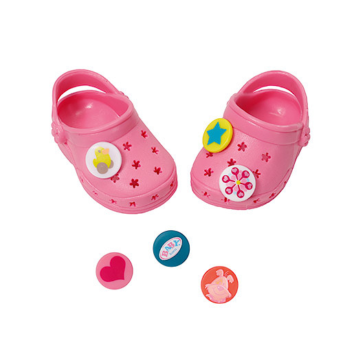 Image of Baby Born Customisable Pin Shoes - Light Pink