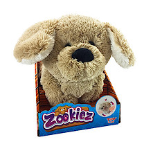Zookiez 30cm Soft Toy - Brown Dog