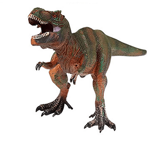 Awesome Animals Large Dinosaur Figurine - Tyrannosaurus Rex Red