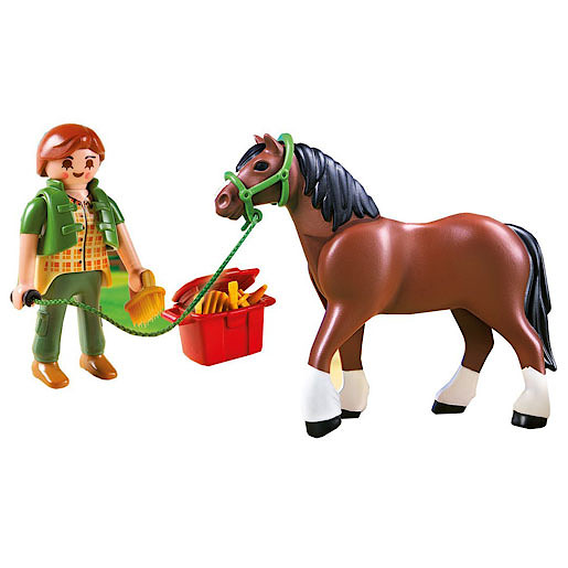 Playmobil - Shire Horse with Stall 5108