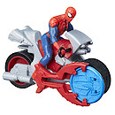 Marvel Spider-Man Blast N' Go Racers - Spider-Man with Cycle