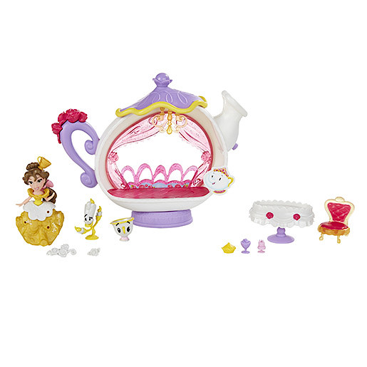Disney Princess Little Kingdom Belle's Enchanted Dining Room Playset