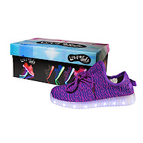 Light and Sole LED Purple Shoes - Size 11 Junior