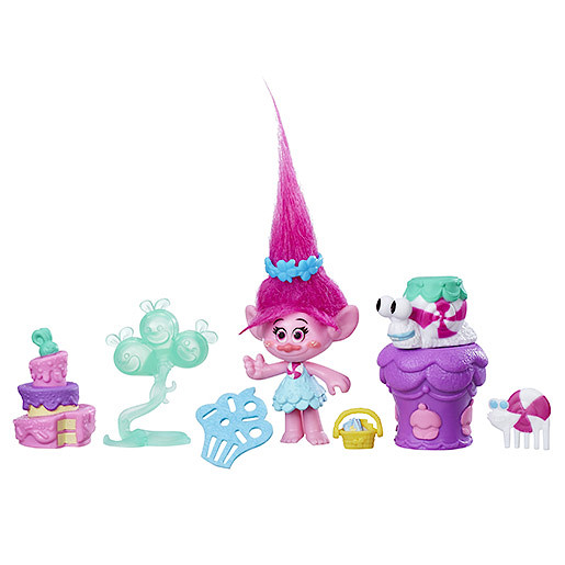 DreamWorks Trolls Poppys Party Figure Set