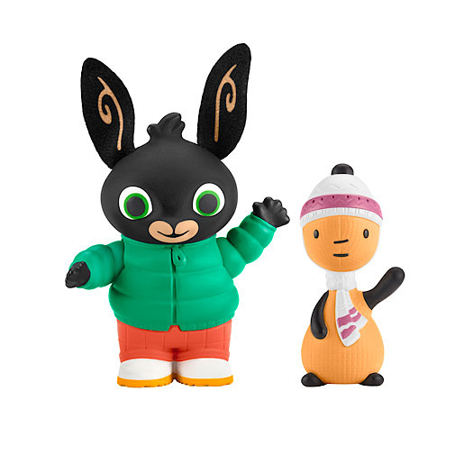Image of Fisher-Price Bing Figure Pack - Autumn Day Bing & Flop