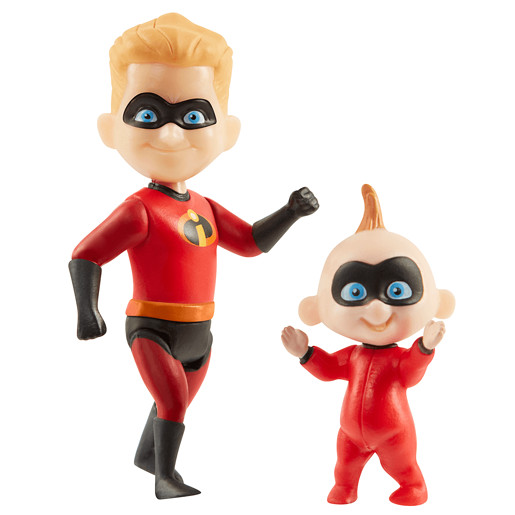 Disney Pixar Incredibles 2 Figure - Dash & Jack-Jack