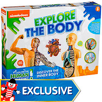 Nickelodeon Explore The Body Discovery Set