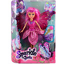 Sparkle Girlz Butterfly Fairy Doll - Pink