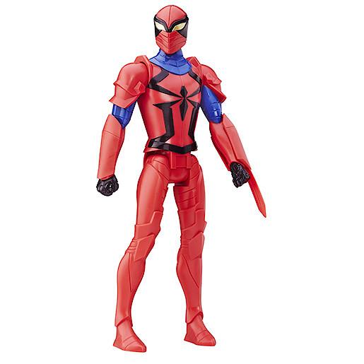 Marvel Ultimate SpiderMan Sinister 6 Titan Hero Action Figure  Spyder Knight