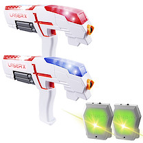 Laser X Infrared Game with 2 Blasters