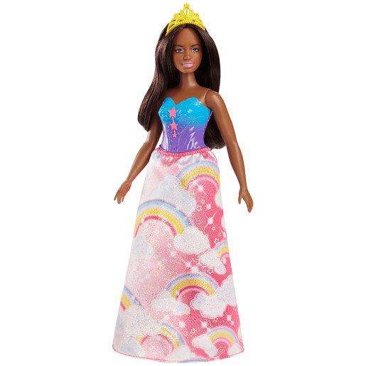 Barbie Dreamtopia Princess Doll - Dark Brown Hair