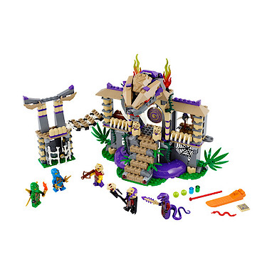 Lego Ninjago Masters of Spinjitzu Enter The Serpent - 70749 - The ...