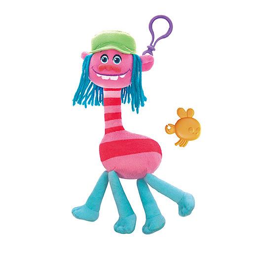 Image of DreamWorks Trolls Mega Soft Toy Keychain - Cooper