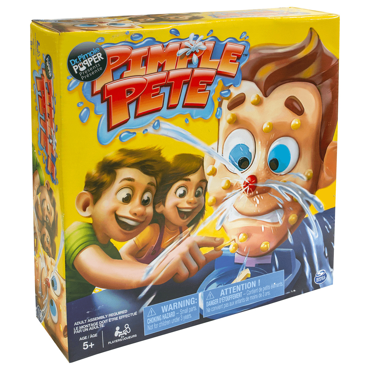 Spin Master Free Shipping! Pimple Pete Game Baby